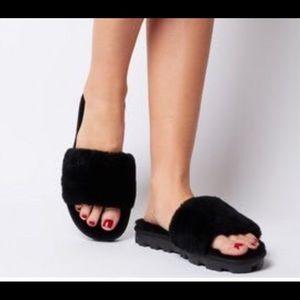 Ugg Cozette Brand New Black Slide Slippers